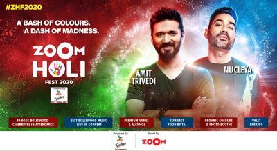 Zoom Holi Fest 2020