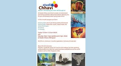 Art Program With Multiple Mediums