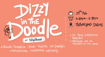 Dizzy in The Doodle Workshop