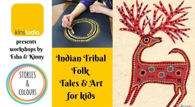 Indian Tribal Folk Tales and Art for Kids!