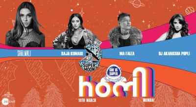 Supermoon Holi   Mumbai   10th March