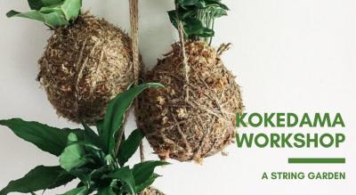 Kokedama Workshop: A String Garden