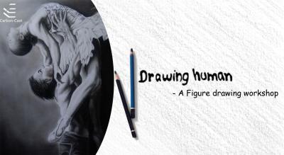 Drawing Human- a figure drawing workshop by Pragyan Kranti