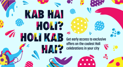 Holi 2020 | Sign up to get special offers
