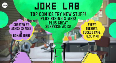 Joke Lab: Your Favourite Comedians Try New Stuff!