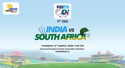 Paytm ODI Series: 1st ODI India vs South Africa, Dharamshala