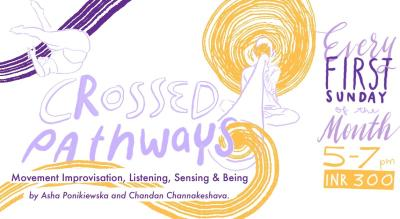 Crossed Pathways - Movement Improvisation, Listening, Sensing & Being