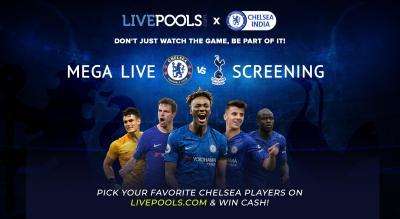 Chelsea v Spurs | Official Chelsea India Screening