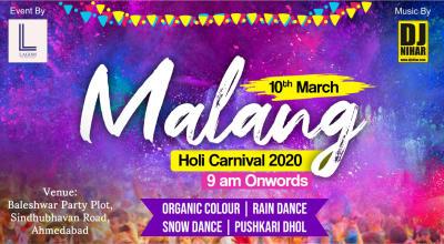 Malang Holi Carnival 2020