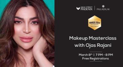 Makeup Masterclass with Ojas Rajani | Women's Week Celebration at High Street Phoenix