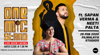 One Mic Stand ft.Sapan Verma and Celebrity Guests