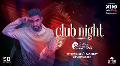 Saturday Club Night ft. Dj Capro