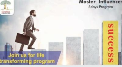 Master Influencer - A 5 Day Life Changing Program
