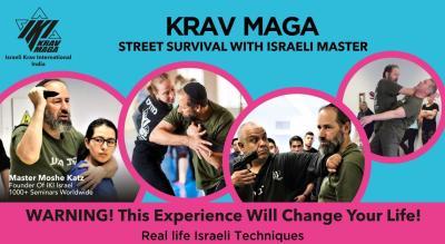 Krav Maga - Street Survival - Israeli Self Defense - Master Moshe Katz