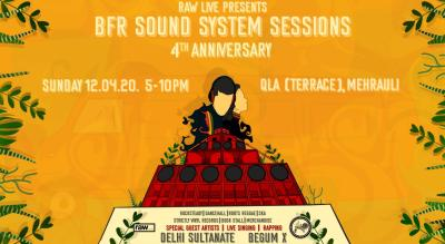 Raw Live Presents BFR Sound System Sessions