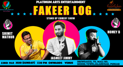 Fakeer Log - A Stand Up Comedy Show