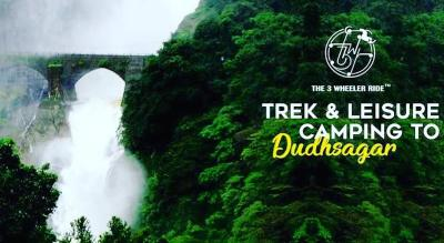 Trek & Leisure Camping to Dudhsagar Waterfall