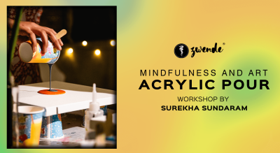 Acrylic Pour Workshop by Surekha Sundaram