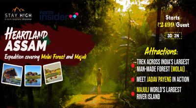 Heartland Assam - Expedition covering Majuli and Molai Forest