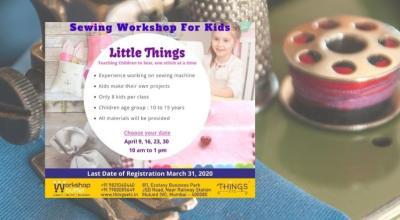 Sewing Workshop For Kids