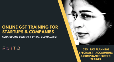 GST Training for Startups and Companies