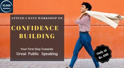 Basic Of Confidence Building Online Workshop