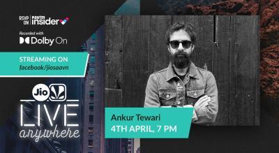JioSaavn - Live Anywhere: Ankur Tewari