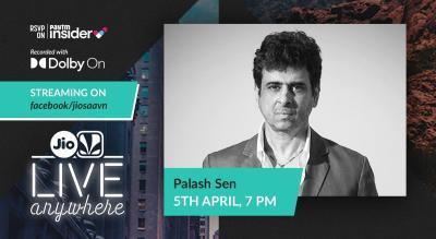 JioSaavn - Live Anywhere: Palash Sen