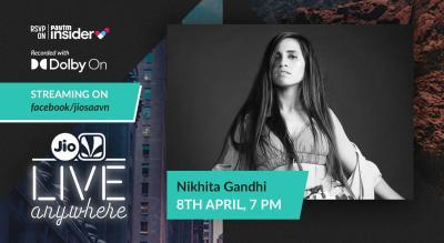 JioSaavn - Live Anywhere: Nikhita Gandhi