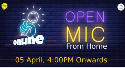 #OpenMicFromHome
