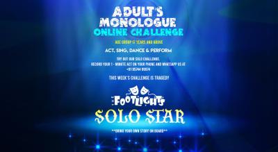 Adult's Monologue Online Challenge