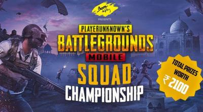 Born To Play Pubg Mobile Squad Tournament