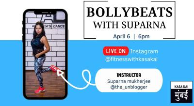 Bollybeats Fitness With Suparna At Live Instagram