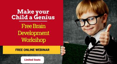 Genius Minds - Free Brain Development Online Workshop for kids aged 5 to 16 yrs
