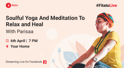 Fitato Facebook Live: Soulful Yoga & Meditation with Parisaa