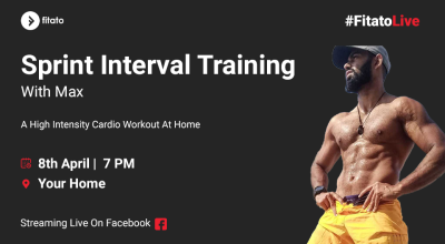 Fitato Facebook Live: Sprint Interval Training with Max
