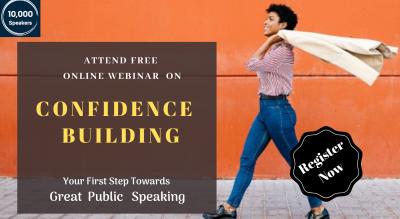 Confidence Building FREE Online Webinar