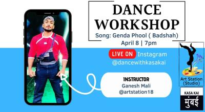 Dance Workshop With Kasa Kai At Live Instagram
