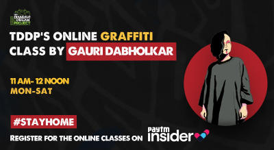 #AfterSchoolofHipHop launches online Graffiti workshop with Gauri Dabolkar