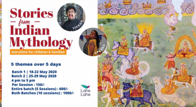 Stories from Indian Mythology, storytime for children and family