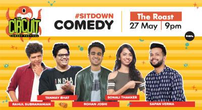 The Roast ft. Tanmay Bhat, Rohan Joshi, Rahul Subramanian, Sonali Thakker and Sapan Verma