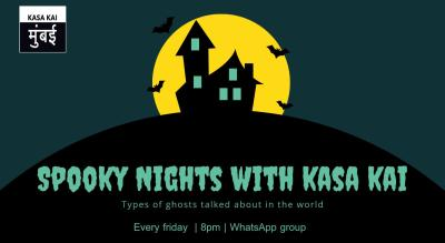 Spooky Night With Kasa Kai At Online Whatsapp