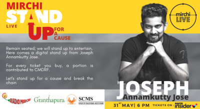 MIRCHI Stand-Up Series | Episode 1 | Joseph Annamkutty Jose