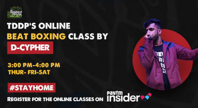#AfterSchoolofHipHop's online Beat Boxing workshop with D-Cypher!
