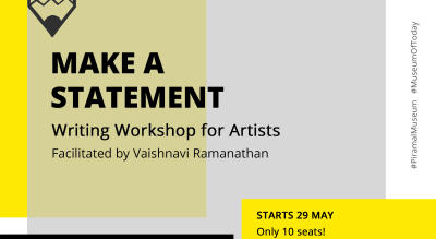 Make A Statement: Writing Workshop for Artists