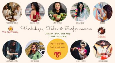 FUNDRAISER Event - Workshops, Talk & Performances