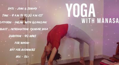 Iyengar Yoga with Manasa