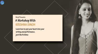 Storytelling/Poetry Workshop with Krishna Singh