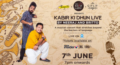 Kabir Ki Dhun Live with Neeraj & Britto