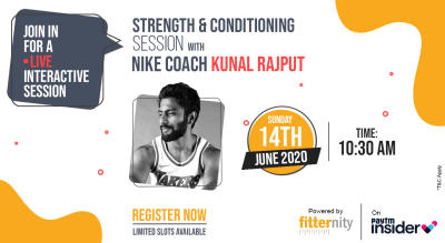 Strength & Conditioning with Nike Coach Kunal Rajput Powered by Fitternity